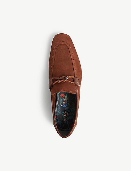 TED BAKER Siblac suede loafers