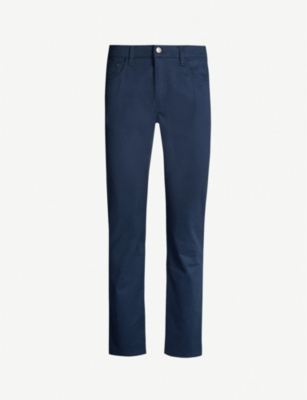 TED BAKER Regular-fit tapered woven trousers