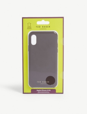 TED BAKER Midoca iPhone X/XS leather clip case