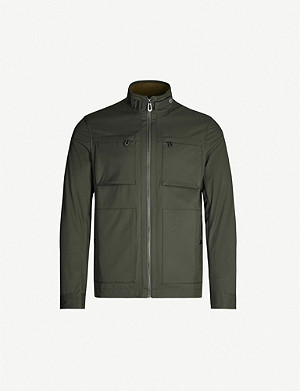 TED BAKER Patch-pocket shell field jacket