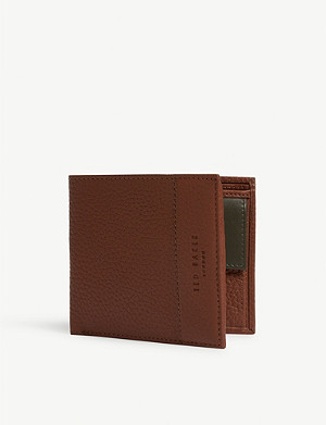 TED BAKER Carabas leather billfold wallet