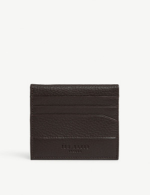 TED BAKER Leather bi-fold cardholder