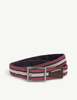 TED BAKER Striped reversible belt