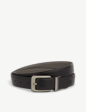 TED BAKER Hock reversible leather belt