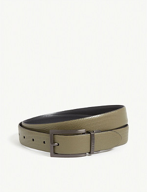 TED BAKER Ronni reversible leather belt
