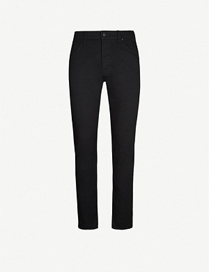 TED BAKER Sherios tapered stretch-denim jeans