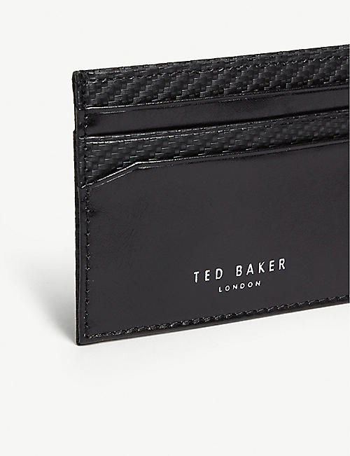 TED BAKER Trabec card holder and cufflinks gift set