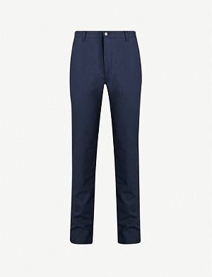 TED BAKER Slintea slim-fit stretch-cotton trousers