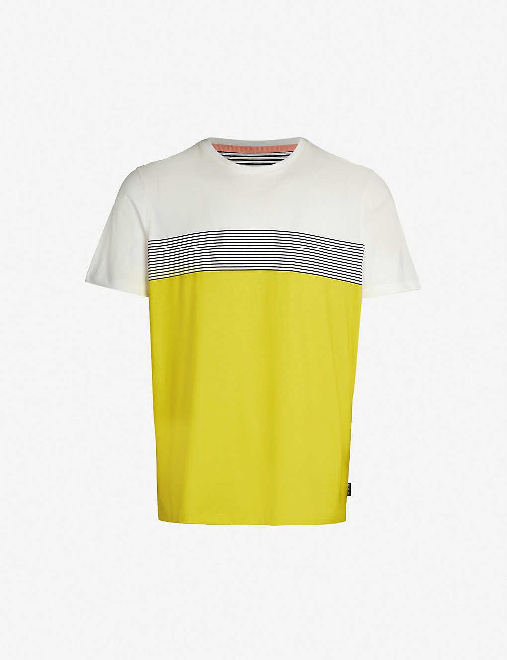 cb49b16c87 Wabadoo striped cotton-jersey T-shirt