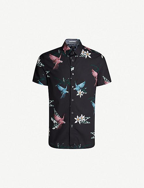 8d6c21079 TED BAKER - Shirts - Clothing - Mens - Selfridges