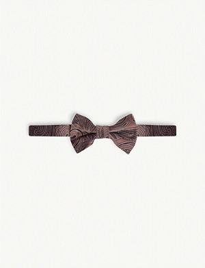TED BAKER Paisely bow tie