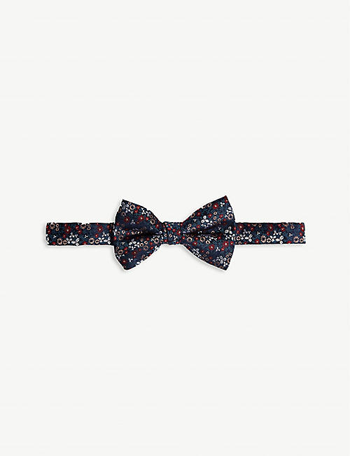 TED BAKER Floral 丝质领结
