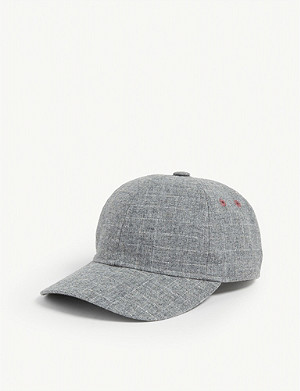TED BAKER Crosshatch baseball cap