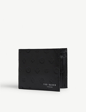 TED BAKER Fezz embossed leather wallet
