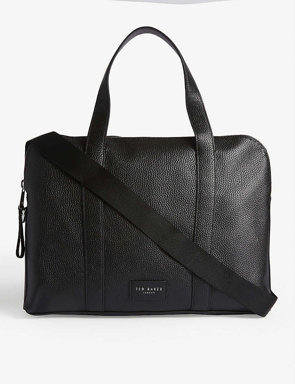 TED BAKER: Infern leather document bag