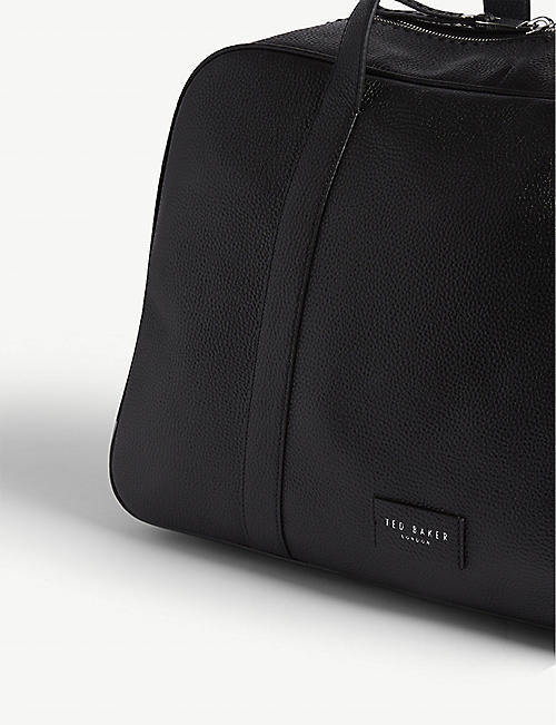 TED BAKER Traves pebbled leather holdall