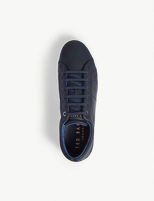 TED BAKER Ephran leather tennis trainer