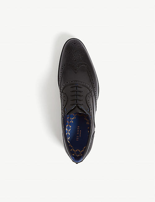 TED BAKER Wingcap leather brogues