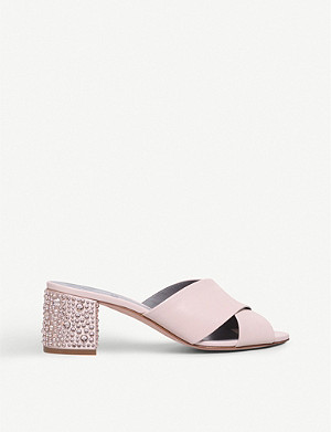 GINA Janiero leather mules