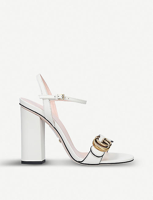 0cc5694c319 GUCCI - Heeled sandals - Sandals - Womens - Shoes - Selfridges ...