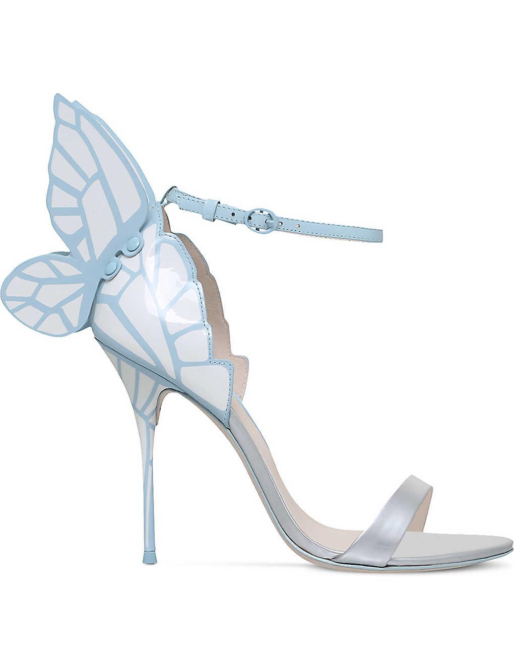 b3bdd805c28d SOPHIA WEBSTER - Chiara bridal winged leather sandals