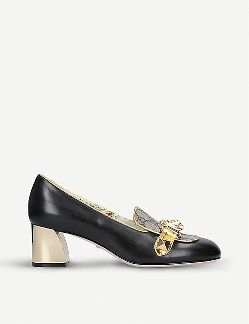 742976f107c GUCCI - Mid heel - Courts - Heels - Womens - Shoes - Selfridges ...