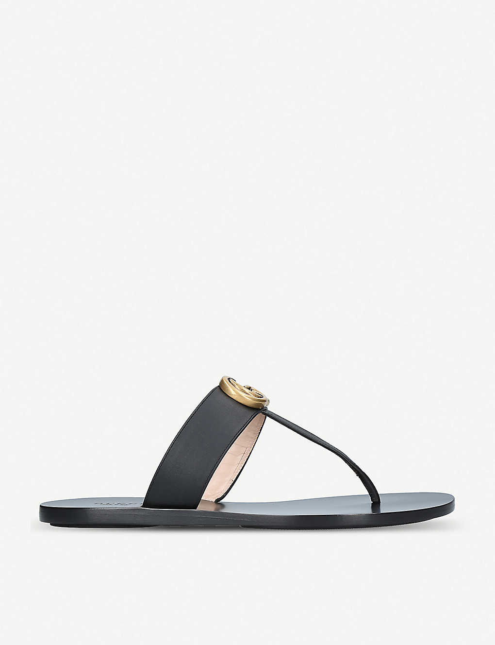 7ee5ecc567e GUCCI - Marmont leather sandals