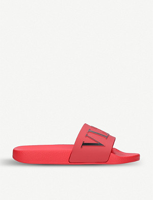 VALENTINO VLTN rubber sliders