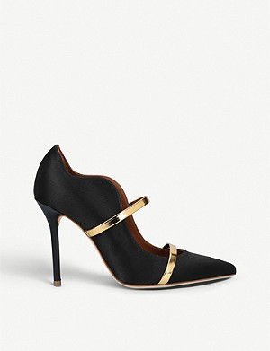 MALONE SOULIERS Maureen 100 nubuck court shoes