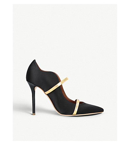 140a4aea1693a MALONE SOULIERS - Maureen 100 satin courts