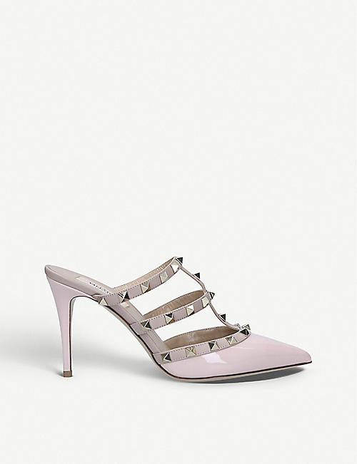 VALENTINO Rockstud 90 studded leather mules