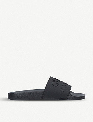 GUCCI Pursuit rubber sliders