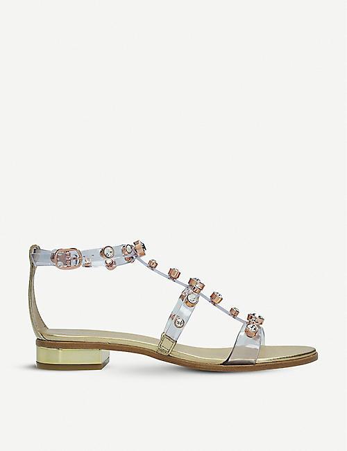 ee572d19c SOPHIA WEBSTER Dina vinyl and leather sandals