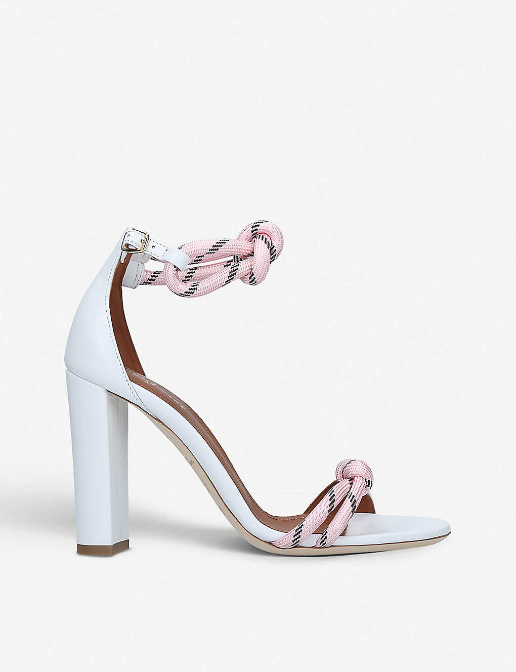 d0907a2db1 MALONE SOULIERS - Norah Luwolt leather and rope sandals | Selfridges.com