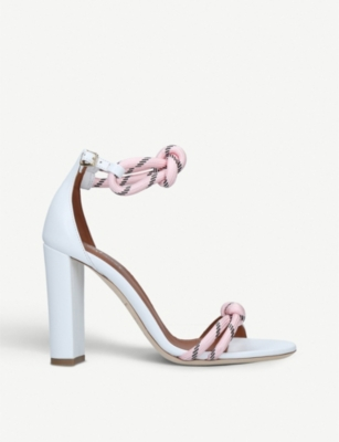 MALONE SOULIERS Norah Luwolt leather and rope sandals