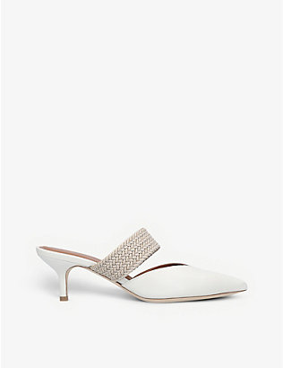 MALONE SOULIERS: Maisie leather mules