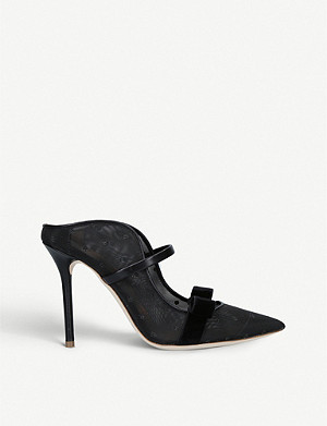 MALONE SOULIERS Marguerite Luwolt mesh mules