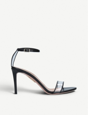 AQUAZZURA Minimalist open-toe leather sandal