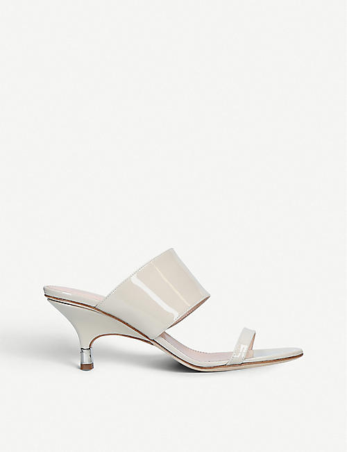 366c3dffa GIUSEPPE ZANOTTI Double-strap patent-leather mules