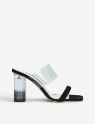 NICHOLAS KIRKWOOD Peggy leather and acrylic mules