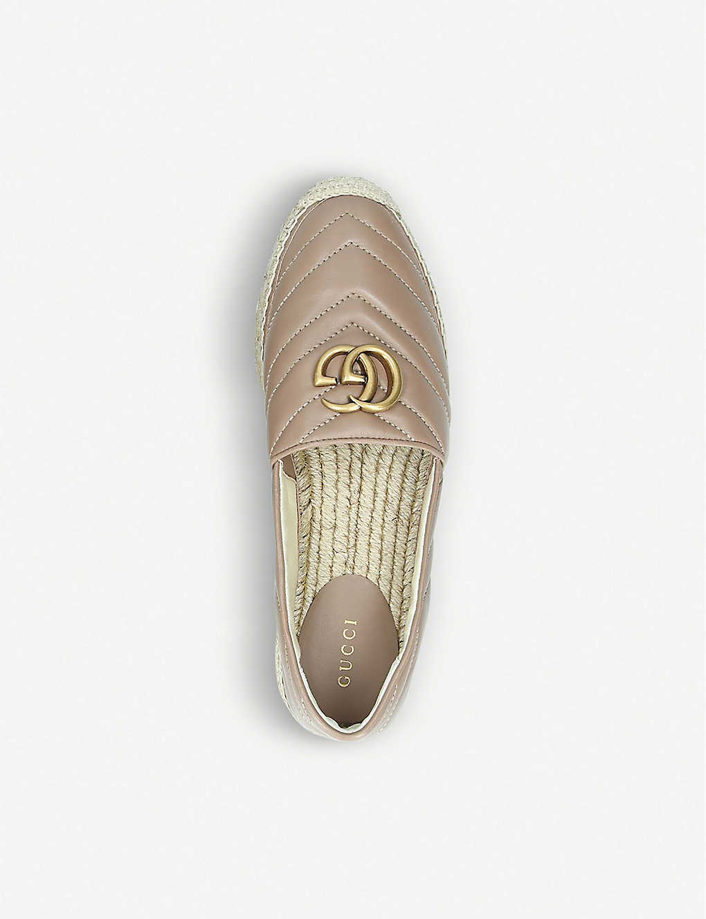 1eb2dfd71a96 ... Pilar flatform leather espadrilles - Pink ...