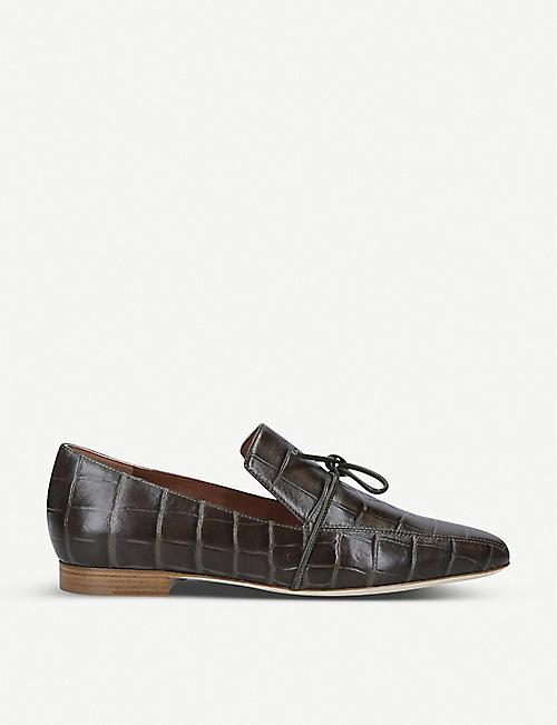 1dac73f589944 MALONE SOULIERS Malone Souliers x Roksanda Celia croc-effect leather loafers