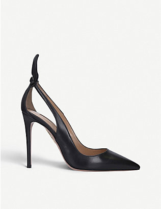 AQUAZZURA: Deneuve Pump leather courts