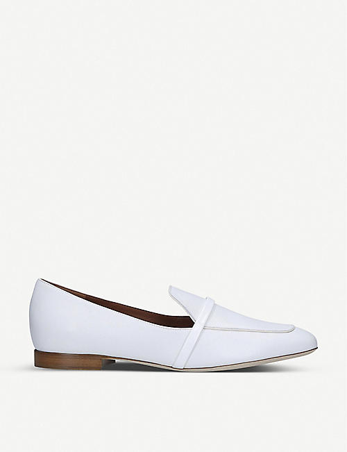 MALONE SOULIERS Jane leather loafers