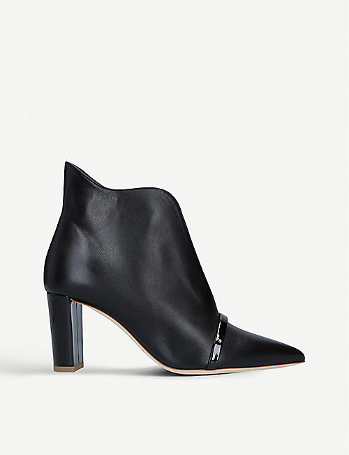 MALONE SOULIERS Clara leather ankle boots