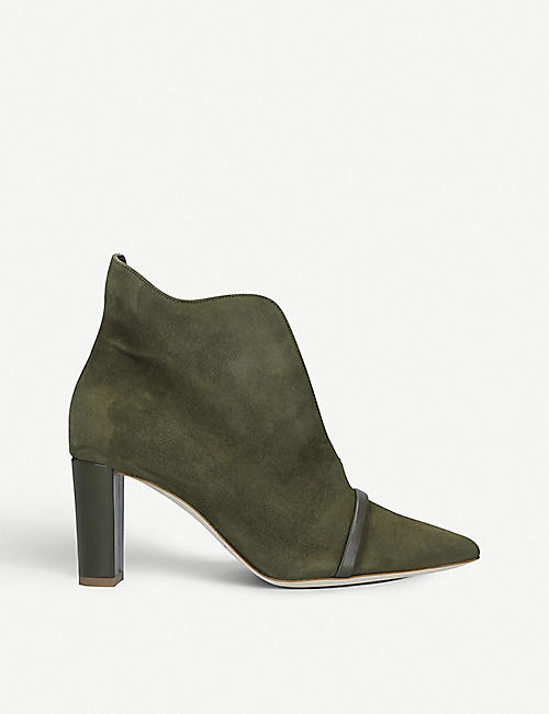 MALONE SOULIERS Clara suede ankle boots