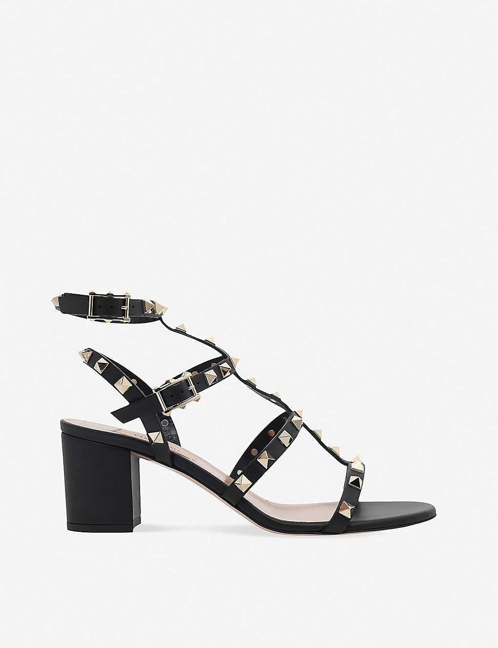 638595cc9dba VALENTINO - Garavani Rockstud 60 leather sandals