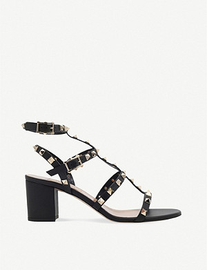 VALENTINO Garavani Rockstud 60 leather sandals