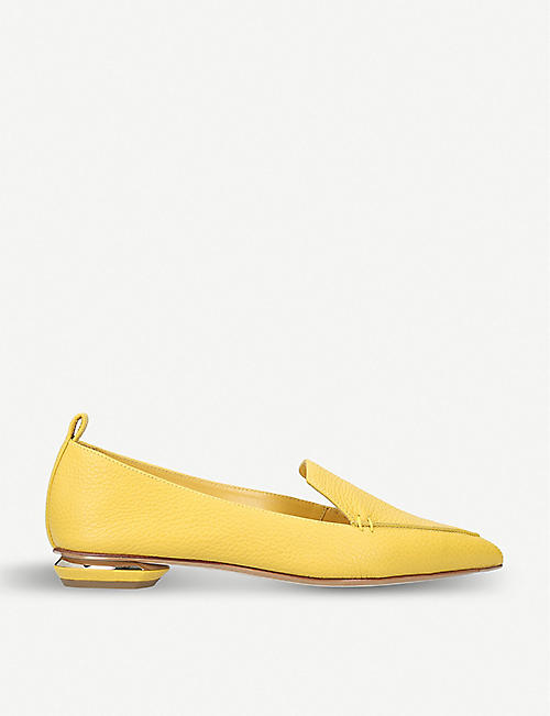 NICHOLAS KIRKWOOD Pointy Slipper leather loafers
