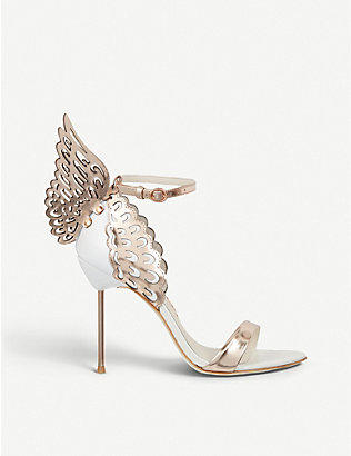 SOPHIA WEBSTER: Evangeline winged heeled sandals